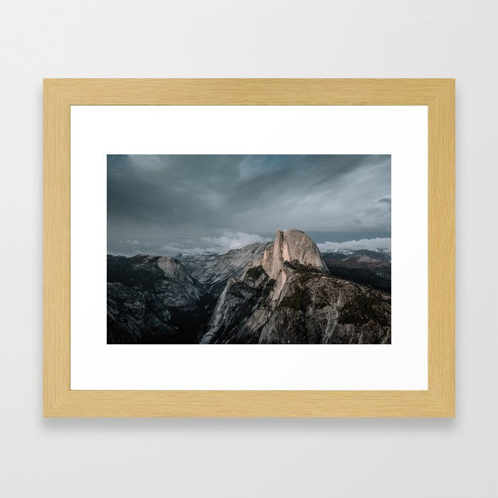Yosemite's Half Dome Framed Art Print