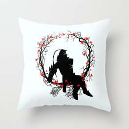 Alchemist Robot Throw Pillow