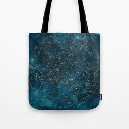 Under Constellations Tote Bag