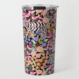 Tiger pattern Travel Mug
