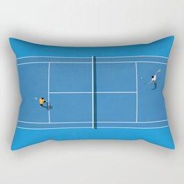 Australian Open Grand Slam | Blue Tennis Court  Rectangular Pillow
