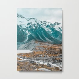 Aoraki Mount Cook National Park  Metal Print