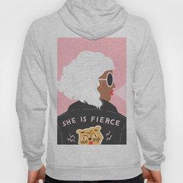 She is Fierce Pink Hoody