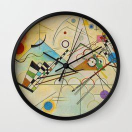 COMPOSITION VIII--- WASSILY KANDISKY Wall Clock