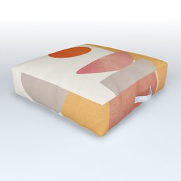 Modern Abstract Art 70 Outdoor Floor Cushion