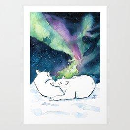 Polar Lights Magic Art Print