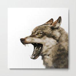 Snarl Metal Print