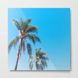 No Clouds Metal Print