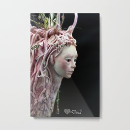 Idunna Deerwoman Metal Print