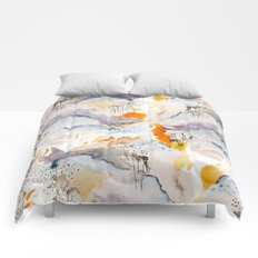 marmalade mountains Comforters