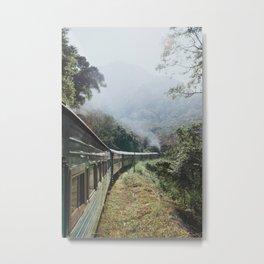 Train Rides in Sri Lanka Metal Print