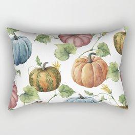PUMPKINS WATERCOLOR Rectangular Pillow
