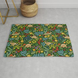 Tortoise and Hare Rug