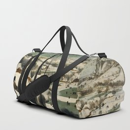 HUNTERS IN THE SNOW - BRUEGEL Duffle Bag