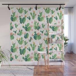 Cactus pattern Wall Mural