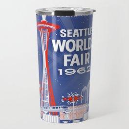 Seattle 1962 World's Fair Vintage Poster Travel Mug