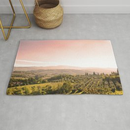Beautiful tuscan landscape Rug