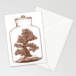 Bonsai Potion Stationery Cards