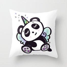 Unicorn Pandy Throw Pillow