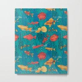 Fish garden Metal Print