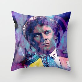 The Sixth Doctor Throw Pillow