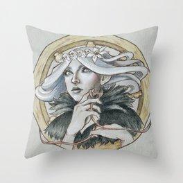 Vaire The Weaver Throw Pillow