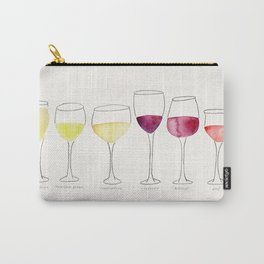 Wine Collection Carry-All Pouch