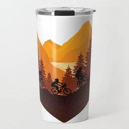 Funny biker fashion. All who love nature will love it Travel Mug