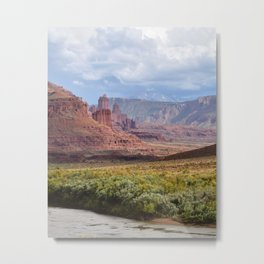 Fisher Towers Metal Print