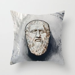 Plato Throw Pillow