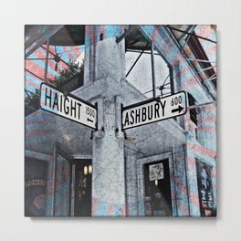 haight / ashbury Metal Print