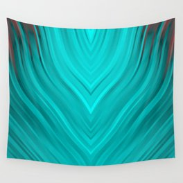 stripes wave pattern 3 2s Wall Tapestry