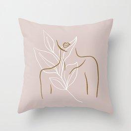 Floralle Throw Pillow