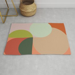 Abstract Geometric 2 #fallwinter #colortrend #decor Rug