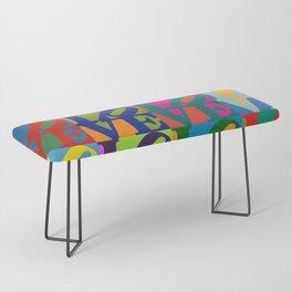 Love Pop Art Bench