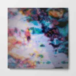 Aura:  A Waterfall Metal Print