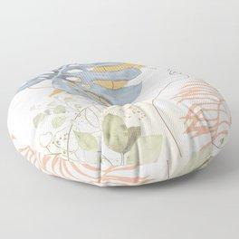 Line in Nature III Floor Pillow