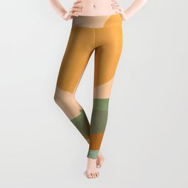 Rainbow Waves Landscape Leggings