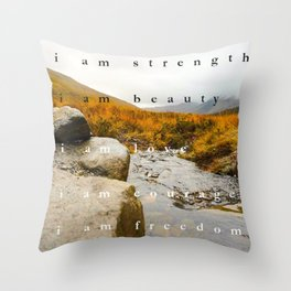 I am Throw Pillow