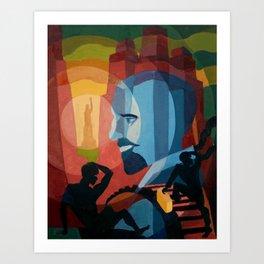 WEB Du Bois Art Print