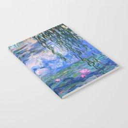 Water Lilies Monet Notebook