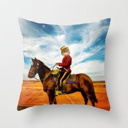 Sergeant Major Bannock Throw Pillow