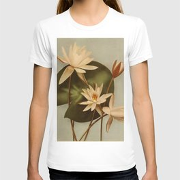 Vintage Water Lily T-shirt