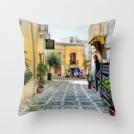 Erice art 3 Throw Pillow