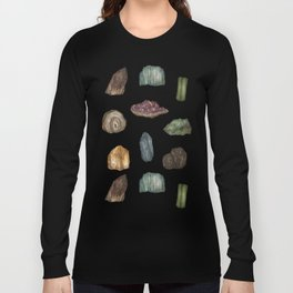 Gems and Minerals Long Sleeve T-shirt