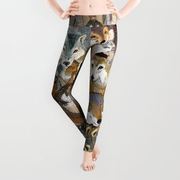 Wolves o´clock (Time to Wolf) Leggings
