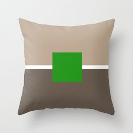 Box - Modern Bauhaus v5 Throw Pillow