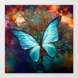 The Blue butterfly Leinwanddruck