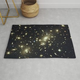 Distant galaxies, Abell 2218. Rug