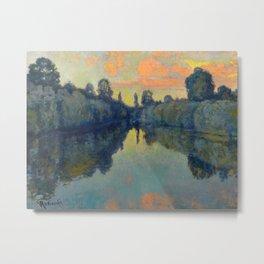 Václav Radimský (1867-1946) River Nooks Impressionist Landscape Oil Painting Metal Print